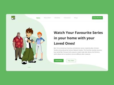Website Banner - Ben 10 Show