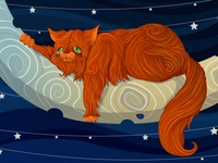Fat Cat On The Moon