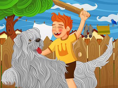 My Best friend illustration