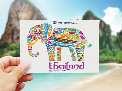 Hostelworld Postcards postcards