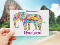 Hostelworld Postcards
