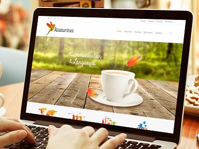 Katarina Markus website ui ux web