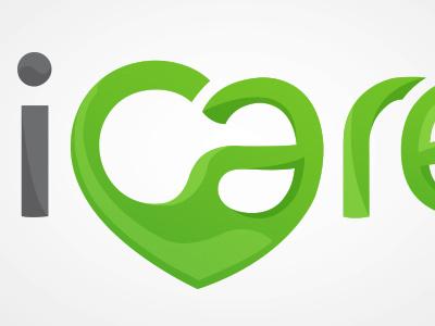 ICare Slovenia identity logo