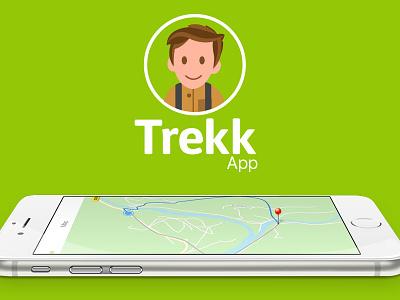 Trekk App Preview app ux ui