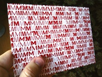 Miller Type Postcard