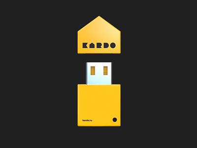 Kardo USB device branding device flash usb