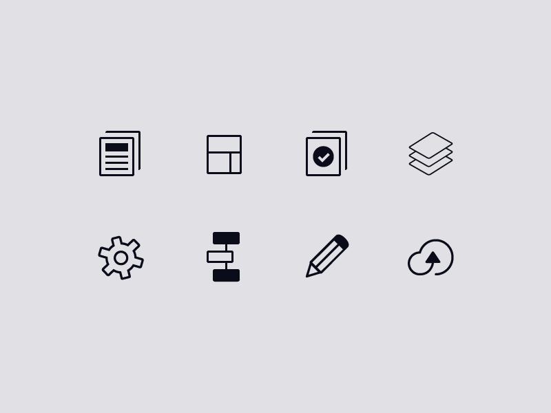 Habitat Navigation Icons icons habitat inkling