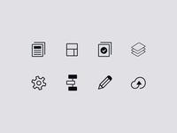 Habitat Navigation Icons