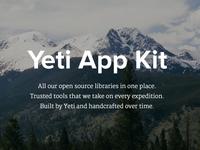 Yeti App Kit