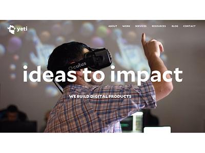 Why simon sinek impact design impact ideas why yeti start with why homepage
