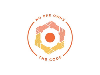 No One Owns The Code halftone