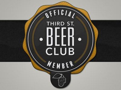 Beer club seal