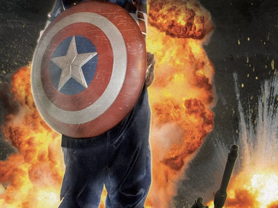 Miloh America compositing captain america birthday party my son is a superhero explosions