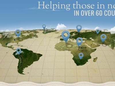 Spiritans map earth map pins spiritans