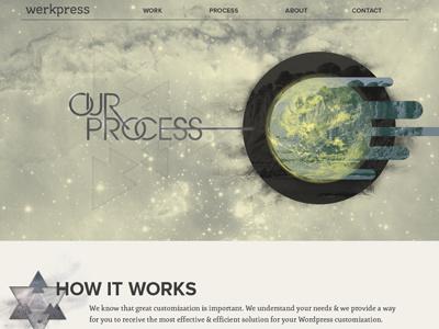 Werkpress Site werkpress website wordpress space-y header