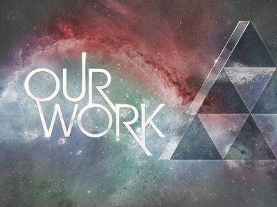 """Our Work"" Header werkpress website more avant garde our work galactical"