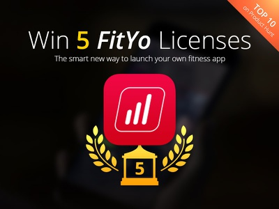 Giveaway: Win 5 FitYo Licenses  source code apple watch ipad iphone code fityo ui free fitness giveaway