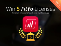 Giveaway: Win 5 FitYo Licenses