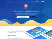 Cize fitness app template