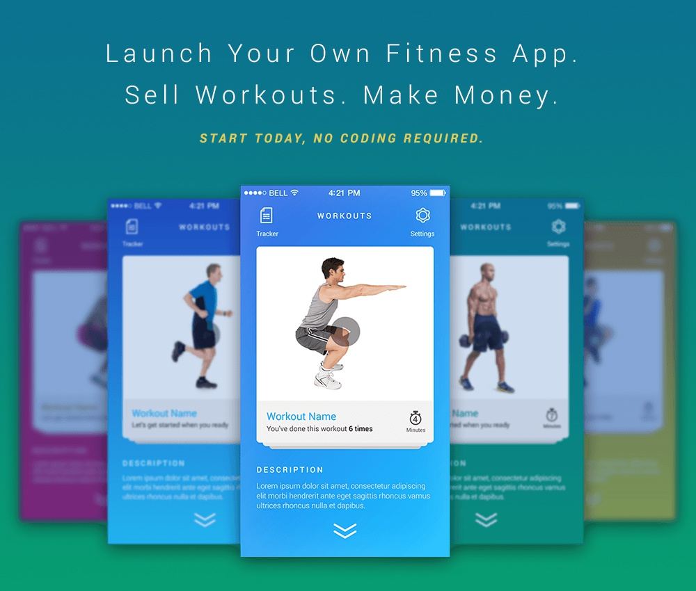 Launch your own fitness app