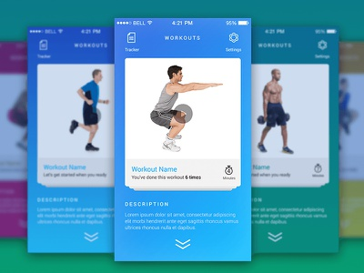 Got Featured on ProductHunt featured simple ux ios icon ui health fitness app