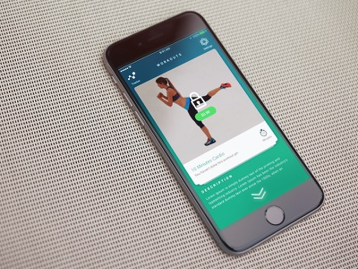 Build Your Fitness App ux ui ios calories tracker video timer fitness