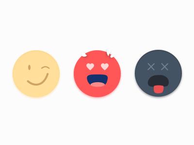 Emoji illustration heart wink love angry social emoticons happy emoji
