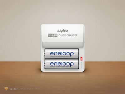 Sanyo Eneloop by Sketch