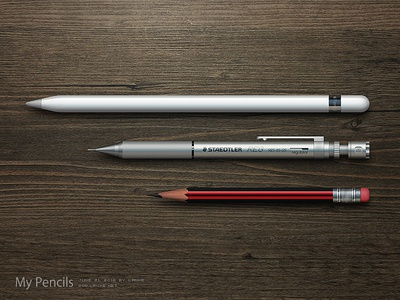 My Pencils by Photoshop