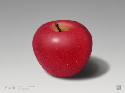 Apple by Photoshop draw ps photoshop apple