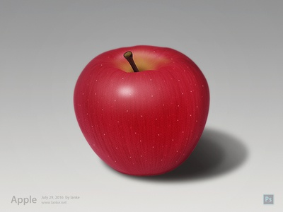Apple by Photoshop