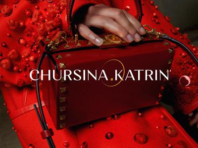 Chursina Katrin Visual identity logo branding logo design graphic design business design design inspiration identity brand icon symbol mark logo designer naming modern typography font fashion fashionable