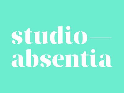 Studio-Absentia Branding logo typography branding