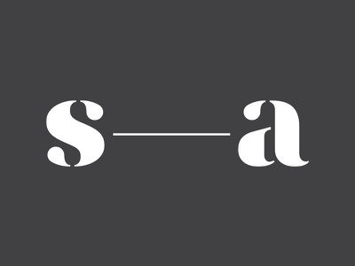 Studio-Absentia Branding, V02 logo typography branding