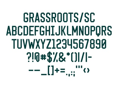 GSC – Typeface type logotype font typography typeface