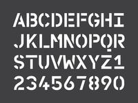 WIP Personal branding - character set