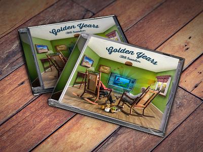 Golden Years Album Cover music album music compact disc album art album cover photobash photoshop
