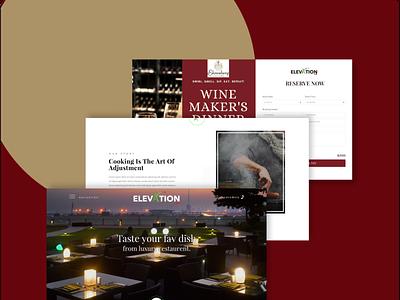 Elevation ux graphic design ui branding website design