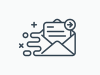 Onboarding Icon: Forwarding