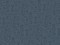 Icon pattern charcoal