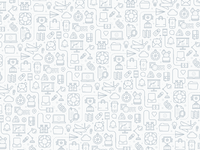 Icon pattern gray