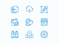 Marketing + Help Doc Icons