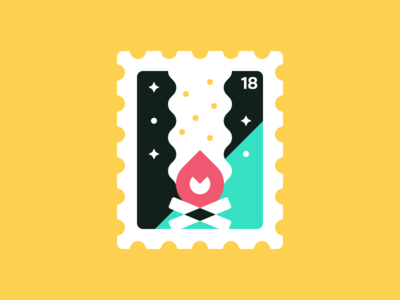 Stamp II: Bonfire