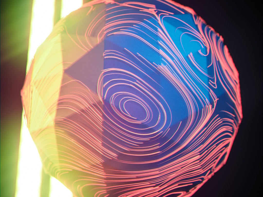 Engulf hdri x-particles design octane cgi 3d cinema 4d onyx abstract surreal