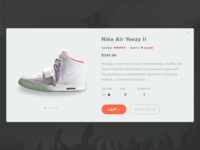 Day 002 - Product Card - Nike Air Yeezy 2
