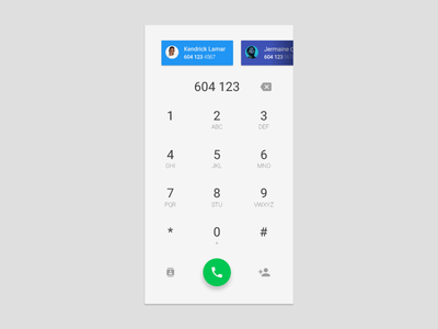 Day 003 - Dial Pad