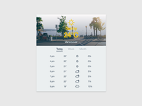 Day 010 - Weather Widget