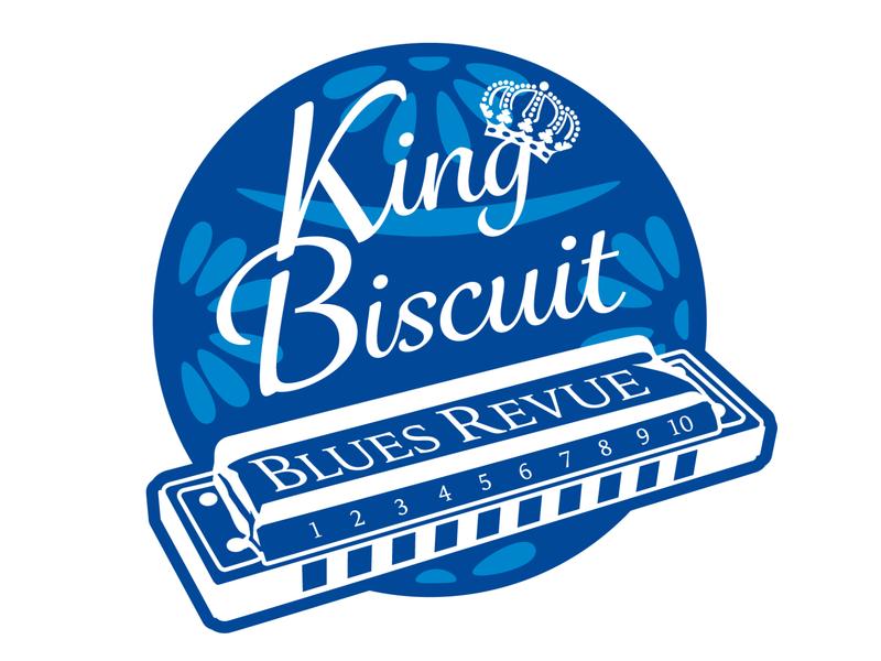 KingBiscuitTimeLogoRedraw graphic design illustrator minimal flat typography design logo vector illustration branding