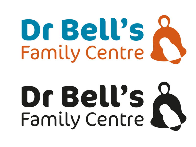 Dr Bell s Family Centre Logo Dribbble identity illustrator minimal flat typography design logo vector illustration branding