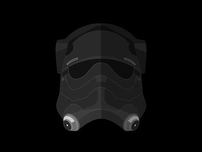 First Order Tie Pilot tie fighter the force awakens star wars tie pilot